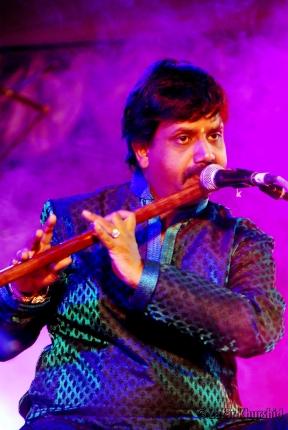 The amazing Ajay Prasanna on the Flute