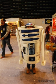 A larger than life-size R2-D2